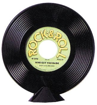 Record Centerpiece 9 Inch