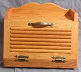 Oak Bread Box