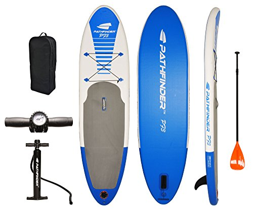 PathFinder Inflatable SUP Stand Up Paddleboard Set 9' 9