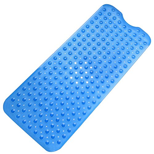 Tosnail Anti Slip Suction Bath Mat - Non Slip Mats for Tub & Shower Bathroom Safety - 16