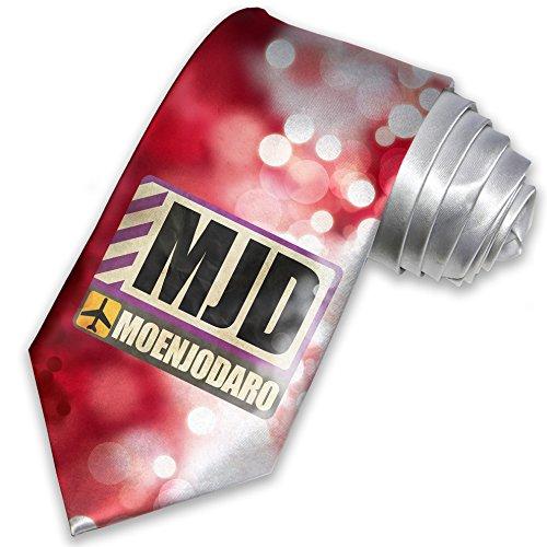 necktie-airportcode-mjd-moenjodaro-christmas-tie-neonblond