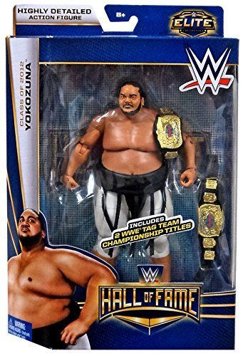 WWE Mattel Elite Action Figure- Hall of Fame Yokozuna Action Figure (Yokozuna Action Figure compare prices)
