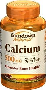(速抢)Sundown Naturals Calcium天然钙片120粒4盒装 SS后$5.27