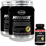 Myonox 2 Pack and I Free Xtreme ZMA - Build Lean Muscle - Gain Muscle Fast , In Stock At Us, Faster Shipping !!