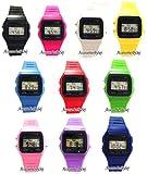3,8 cm Unisex-Armbanduhr Digital Damenuhr/Herrenuhr Retro Design Klassisch Uhr - Verfügt über Luxuriöse Geschenktüte von AccessoriesBySej - Von AccessoriesBySej TM