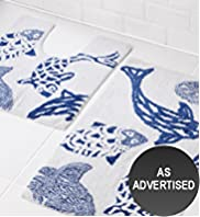 Bliss Fish Bath & Pedestal Mats