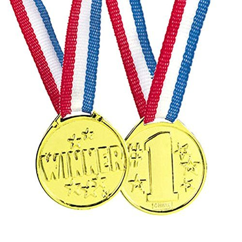 Winner Medals (Pack of 24)