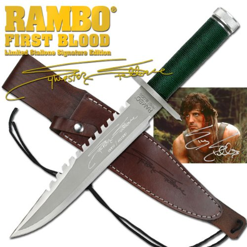 Rambo I: Stallone Signature Edition Fixed Blade