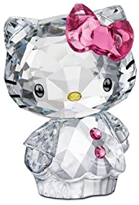 Swarovski Hello Kitty Pink Bow Figurine