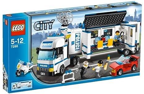 Lego City - 7288 - Jeu de Construction - L' Unité de Police Mobile