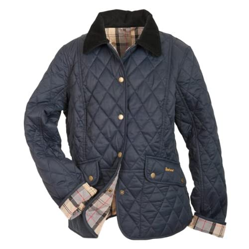 Women's Barbour Kendal Quilted Jacket - Navy
