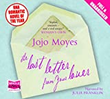 Jojo Moyes The Last Letter from your Lover (Unabridged Audiobook)