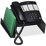 Universal One Mesh Desktop Telephone Stand, Black