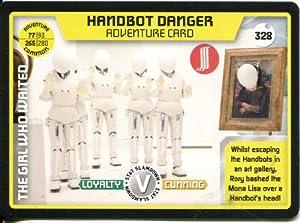Doctor Who Monster Invasion Extreme Common Card #328 Handbot Danger