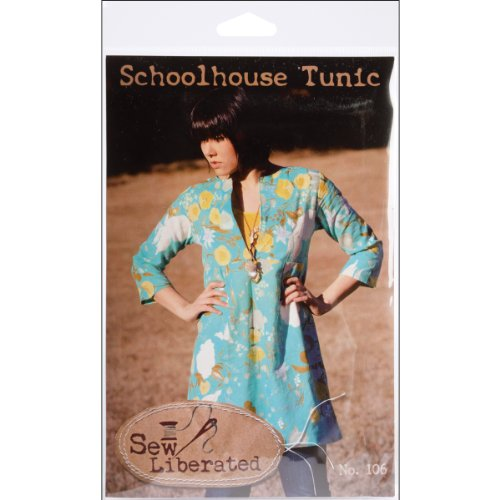 Great Deal! Sew Liberated Patterns-Schoolhouse Tunic