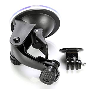 Jazooli Car Glass Windscreen Window Suction Cup Mount for GoPro Camera HD Hero 1 2 3 4