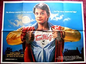 Collectible Teen Wolf: Uk Quad Film Poster