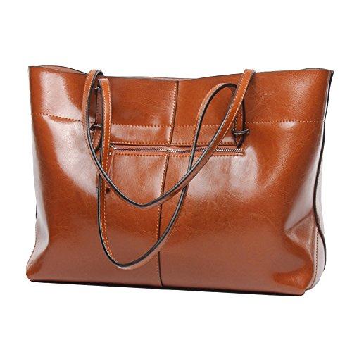 covelin-womens-handbag-genuine-leather-tote-shoulder-bags-soft-hot-brown