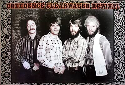 "J-4435 Creedence Clearwater Revival CCR American rock band Wall Decoration Poster Size 35""x23.5"""