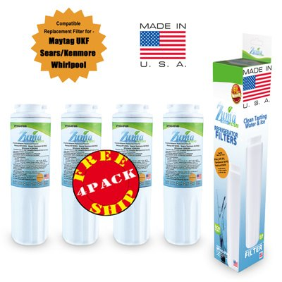 (4-Pack) - Maytag Ukf8001T Compatible Refrigerator Water And Ice Filter By Zuma Filters (Opfm2)