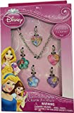 Disney Princess Interchangeable Toggle Charm Bracelet Jewelry Gift Set with ADORABLE Bracelet and 5 Charms