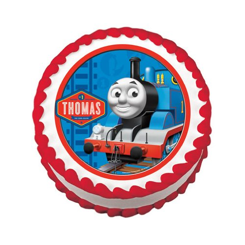 Thomas The Train Cake Toppers And Birthday Cake ...