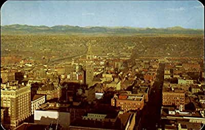 Denver And Rocky Mountains Denver, Colorado Original Vintage Postcard