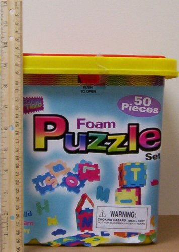 Cheap Foam Time 50 pc Foam ALPHABET Floor PUZZLE Set (B000JUIQX4)