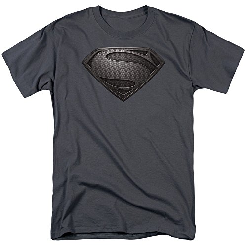 trevco-mens-superman-man-of-steel-desaturated-t-shirt-charcoal-x-large