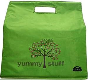 Kerribag Yummy Stuff Reusable Grocery Shopping Tote Bag