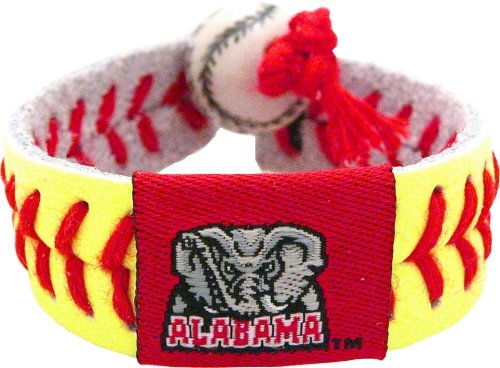 NCAA Alabama Crimson Tide A Logo Classic Softball Bracelet at Amazon.com