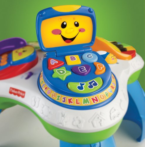 Fisher price laugh learn fun with friends musical table activity center electronics computers - Table activite fisher price ...