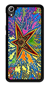 """Humor Gang Start Trippy Psychedelic Printed Designer Mobile Back Cover For """"HTC DESIRE 826"""" (3D, Glossy, Premium Quality Snap On Case)"""
