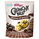 Kellogg's Crunchy Nut Oat Granola Chocolate & Hazelnut 380g case of 8