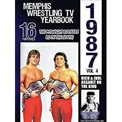 1987 Memphis Wrestling TV Yearbook Volume 4