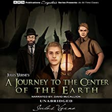 A Journey to the Center of the Earth Audiobook by Jules Verne Narrated by David McCallion
