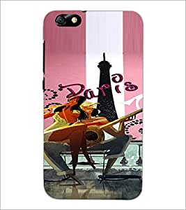 PrintDhaba Couple D-4894 Back Case Cover for HUAWEI HONOR 4X (Multi-Coloured)