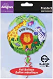 Amscan International Jungle Animals Birthday Foil Balloon