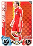 Jamie CARRAGHER Liverpool Individual Match Attax 2010/11 Trading Card