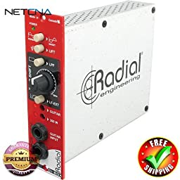 JDX 500 Reactor Speaker Simulator Module With Free 6 Feet NETCNA HDMI Cable - BY NETCNA