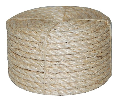 TW--Evans-Cordage-23-410-38-Inch-by-100-Feet-Twisted-Sisal-Rope