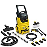 Wolf Blaster Vac 2 in 1 Power Pressure Washer 150bar and 700w Wet & Dry Vacuum Cleaner includes All Accessories