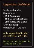 Gaming - Legendärer - Sticker Aufkleber Sprüche - Grösse ca.