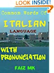 Common Words of ITALION LANGUAGE with...