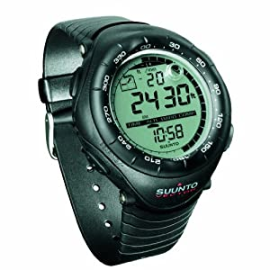 Suunto Vector Wristop Computer with Compass, Altimeter & Barometer (Black) by Suunto