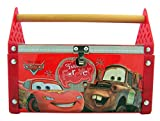 Disney Pixar Cars Friends Forever Toolbox Tin with Heart Lollipops, 7 Inch