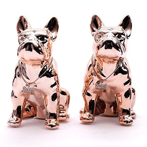 bellino-set-di-2-salvadanaio-buddy-cuprea-18-cm-ceramica-statuetta