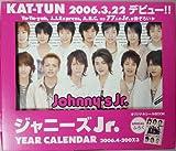 ジャニーズJr. YEAR カレンダー 2006/4→2007/3 ([カレンダー]) -