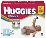 Huggies Snug & Dry Diapers, Size 1, 112 Count