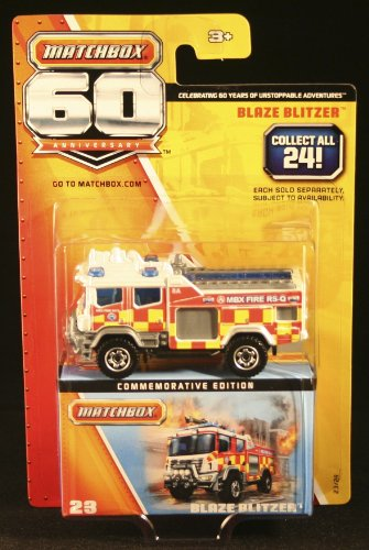 MATCHBOX 60TH ANNIVERSARY BLAZE BLITZER 23/24 by Matchbox